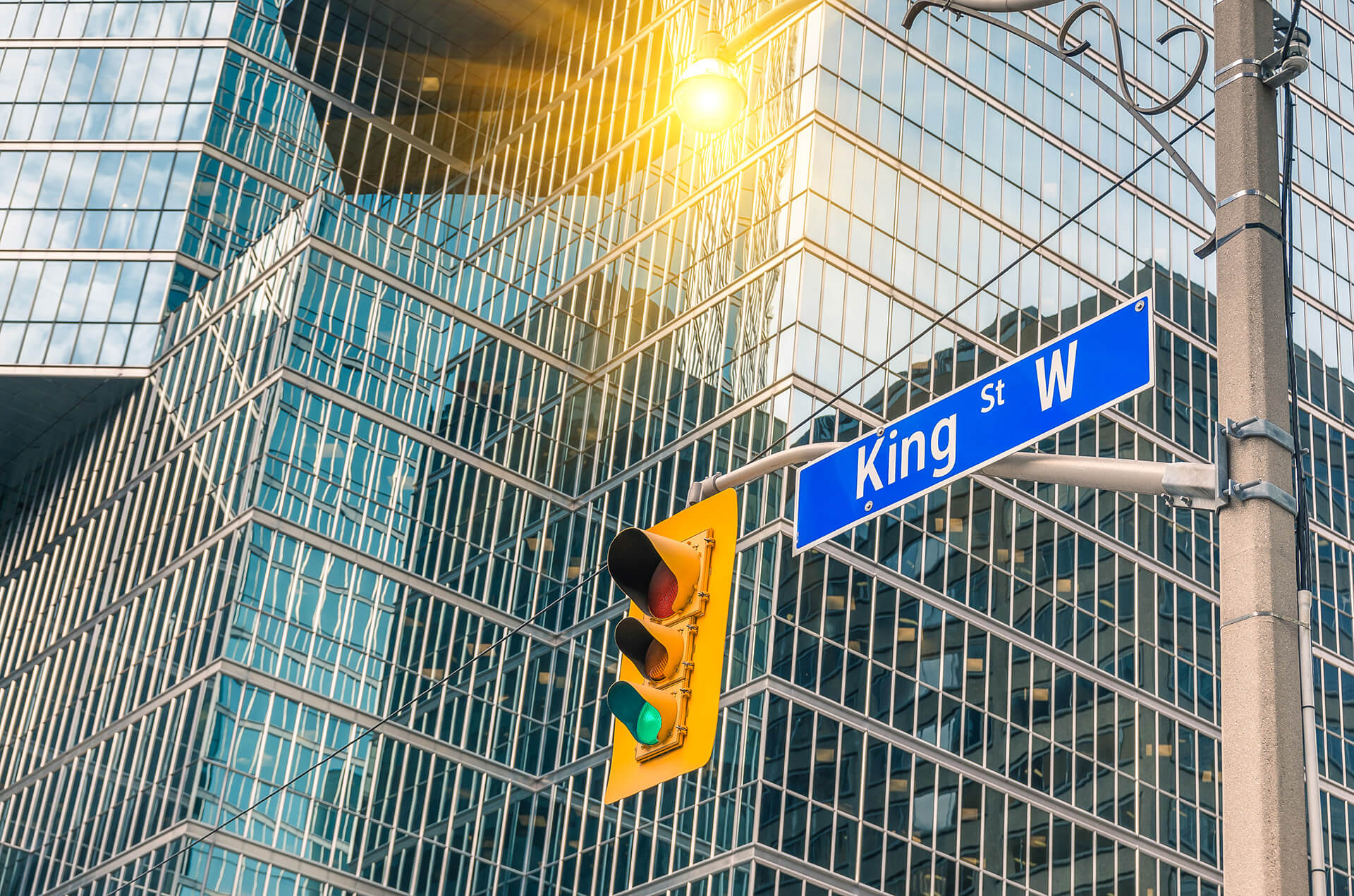 Photo of King street sign.