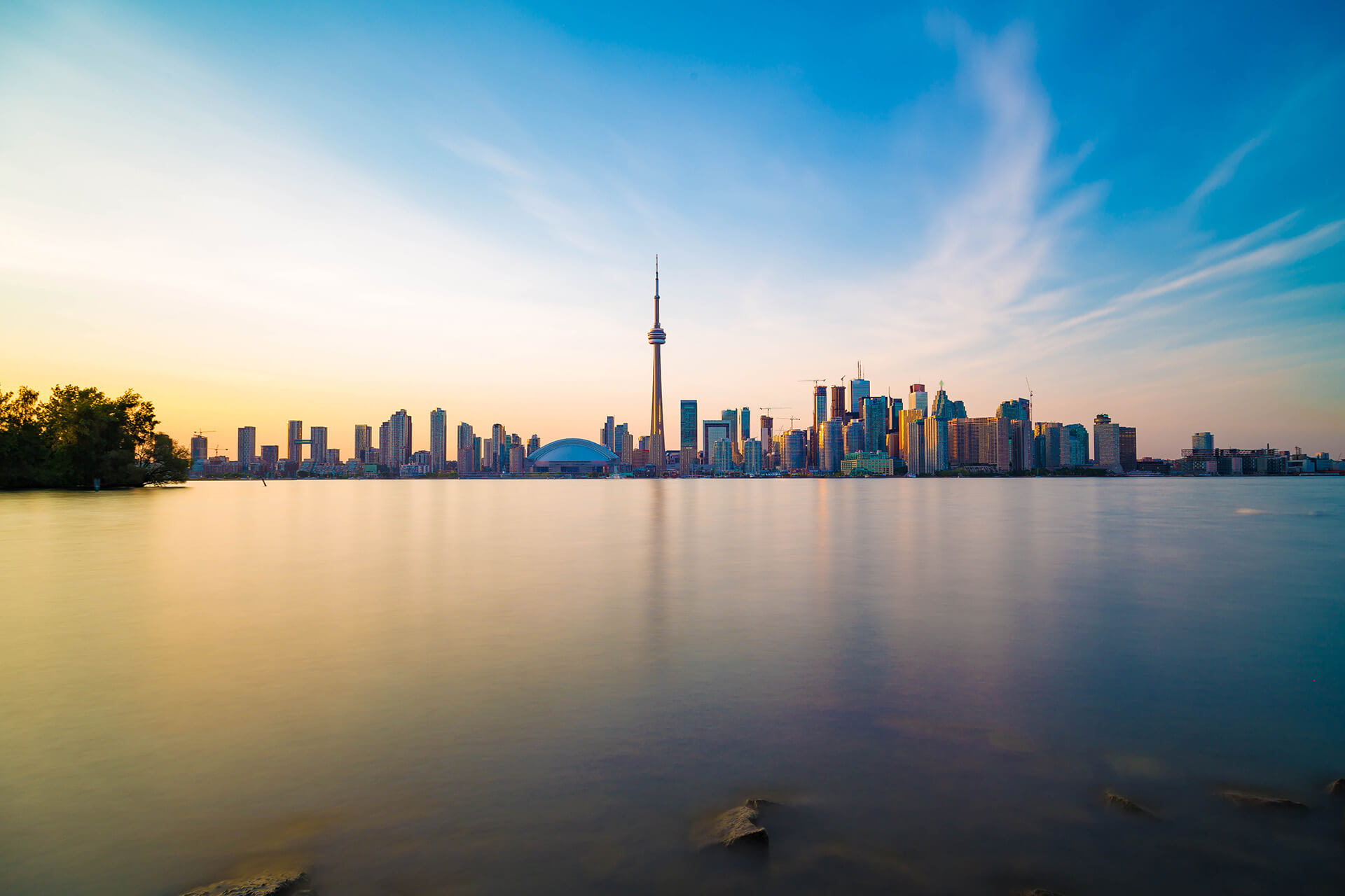 Image of the Toronto skyline